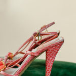 Escarpins Dior en cuir vintage