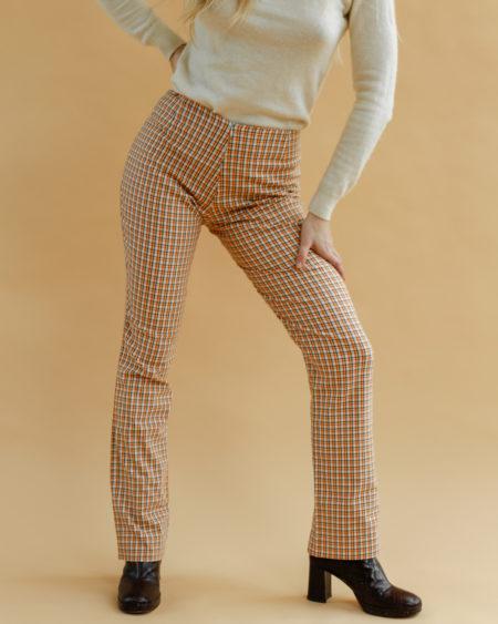 Pantalon à carreaux