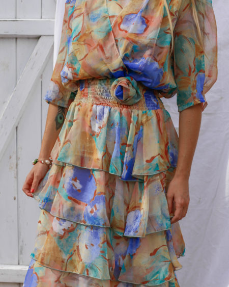 Robe aquarelle