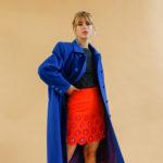 Manteau en laine selena