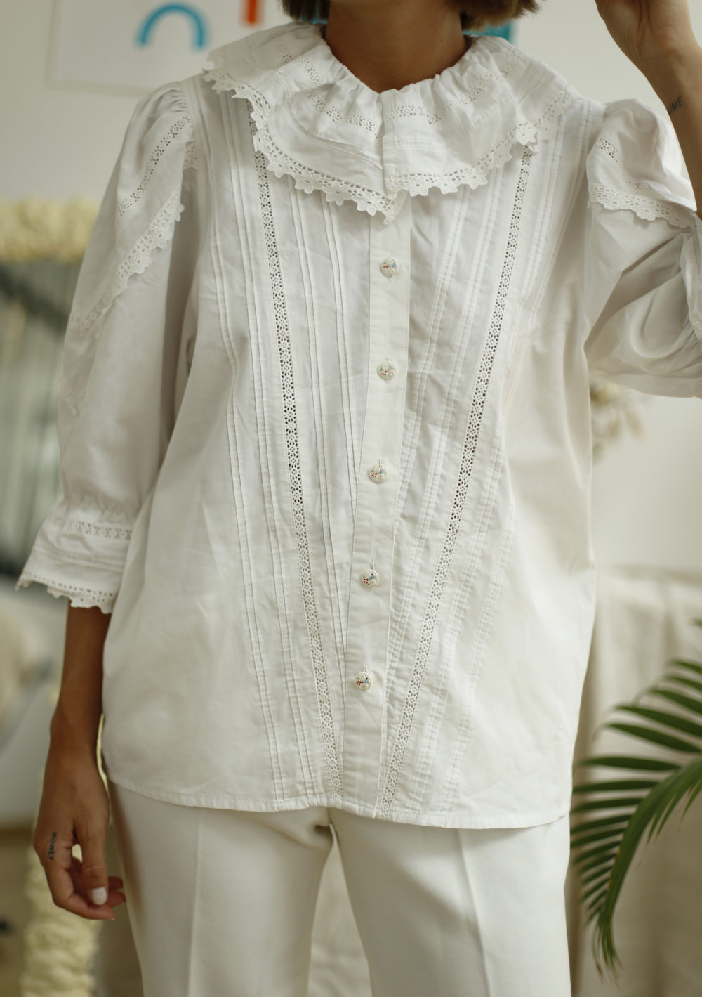 blouse autrichienne vintage