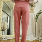 pantalon en coton vintage