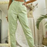 pantalon vintage vichy