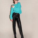 Pantalon Cuir Gianni Versace