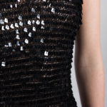 robe maille sequins